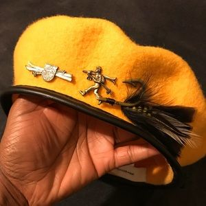 Stylist Beret Hat With Embellishments!!!
